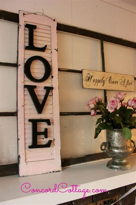 55 Awesome Shabby Chic Decor DIY Ideas & Projects 2017