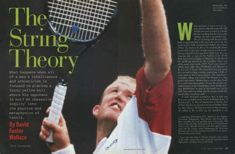 The String Theory | Esquire | JULY 1996