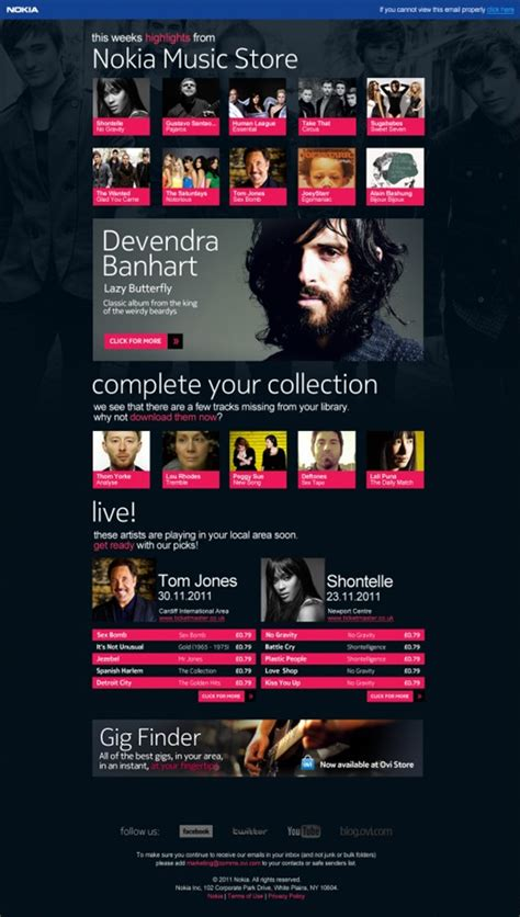 24 awesome HTML email newsletters - Beautiful Email