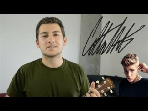 Love Yourself - Justin Bieber Cover - YouTube