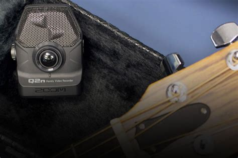 The Zoom Q2n lets you record high-quality audio and comes