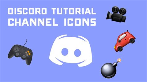 Discord Tutorial - Adding Channel Icons to Your Server via
