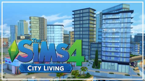 CITY LIVING APARTMENTS! // The Sims 4: Apartment Speed