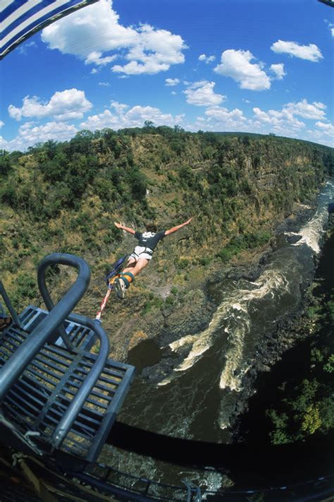 Bungee Jumping in Africa (Victoria Falls, Bloukrans)