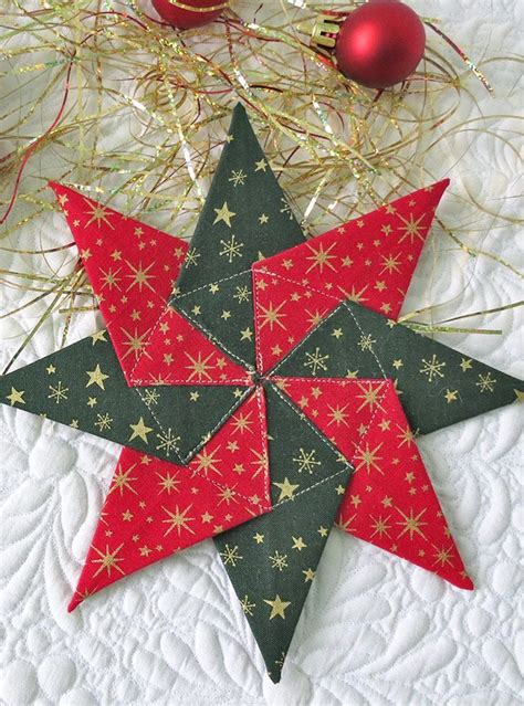 Christmas Quilt Patterns | Fabric christmas ornaments