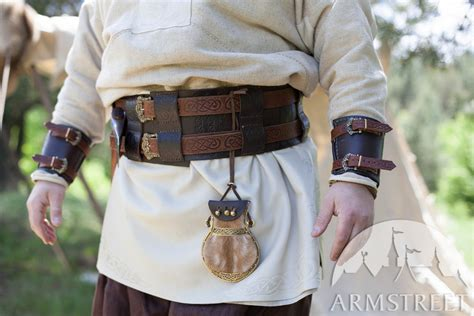 Viking's Leather Pouch