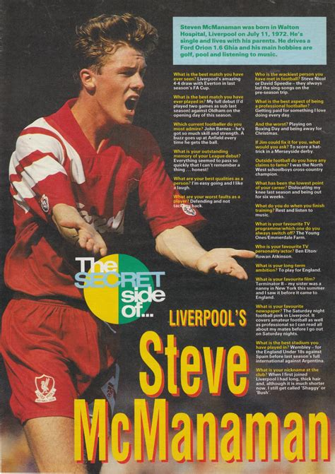 Liverpool career stats for Steve McManaman - LFChistory