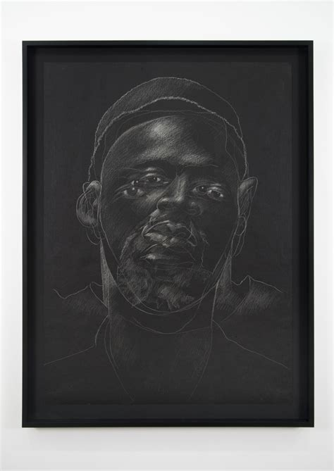 Portraits of Prisoners in Gold Leaf and Tar