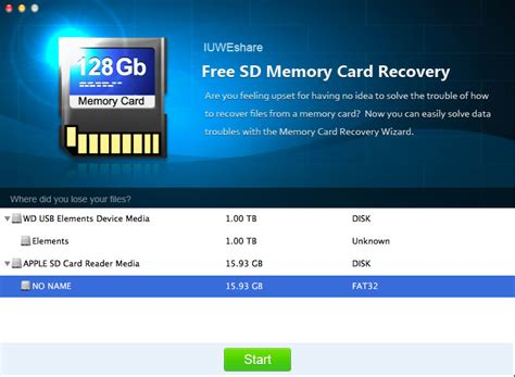 Mac Free SD Memory Card Recovery Software Download