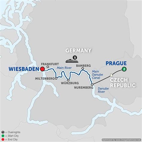 8 Day Avalon River Cruise from Prague to Wiesbaden 2018