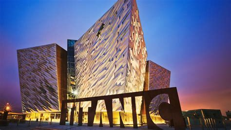 Belfast's Titanic Museum: An ironic hit with cruise ship