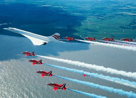 CONCORDE ANGLO FRENCH SUPERSONIC PASSENGER JET AIRCRAFT