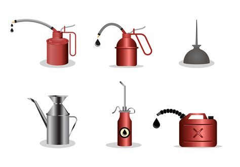 Free Oil Can Vector - Download Free Vectors, Clipart