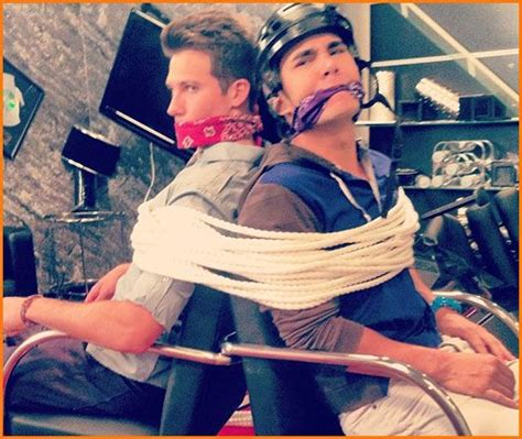 James and Carlos Tied up ;)   Big Time Rush