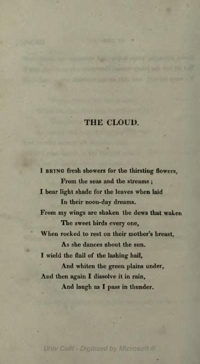 The Cloud (poem) - Wikipedia, the free encyclopedia