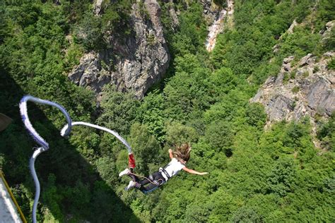 Bungee jumps: the 13 best in Europe