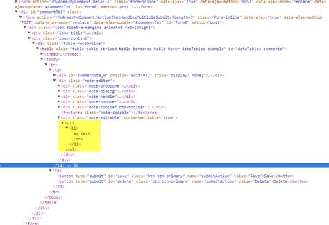 Ajax html form submit example