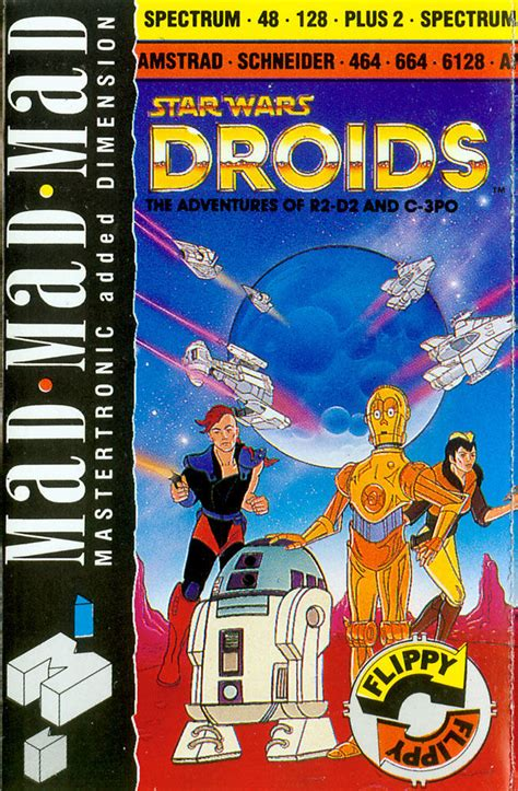 Star Wars: Droids for Amstrad CPC (1988) - MobyGames