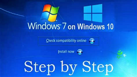How to Install Windows 7 on Windows 10 without CD, DVD and