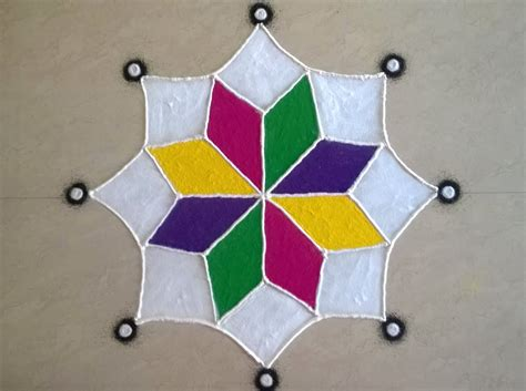 Easy and Simple Rangoli Designs for Diwali   MyWebHunger