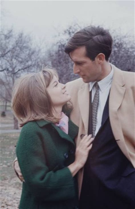 Jay Rockefeller with his fiance, Sharon Percy, 1966