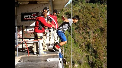 Facing Fear: Bungee Jumping in Cape Town, South Africa