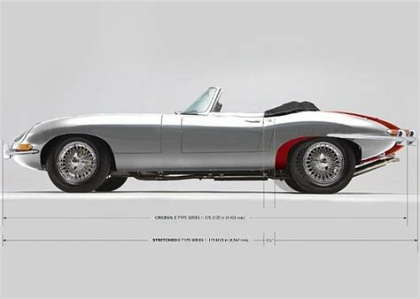WORLD'S FIRST STRETCHED JAGUAR E-TYPE   AuTo CaR