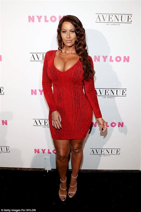 Amber Rose scheduled for breast reduction surgery   Daily